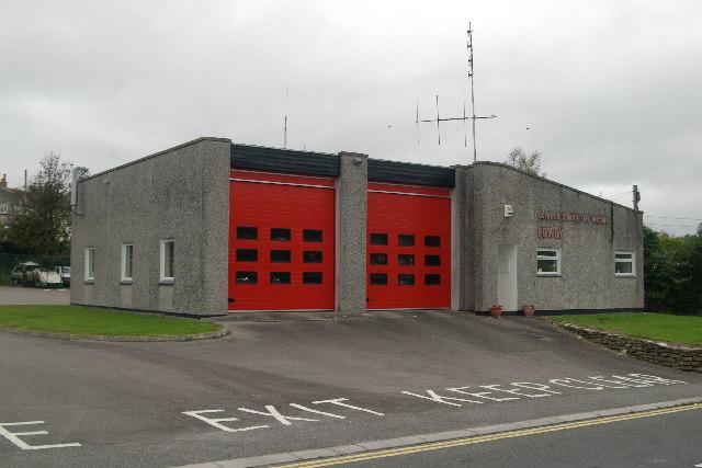 Fowey Fire Station