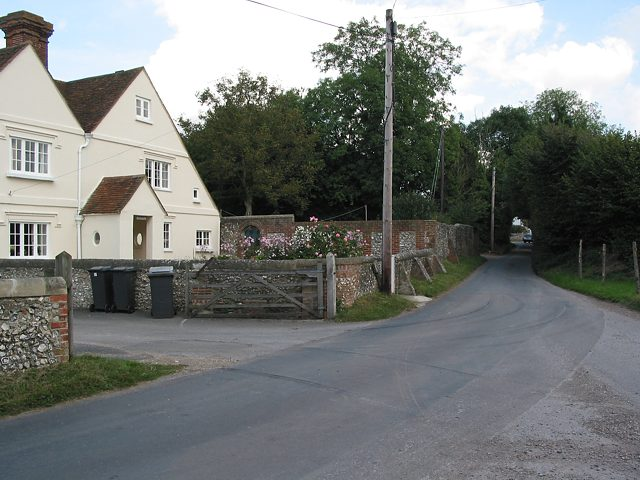 Boyes Farm at the top of Whites Hill, Owslebury