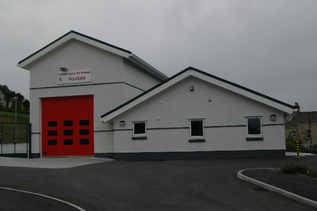 Polruan Fire Station