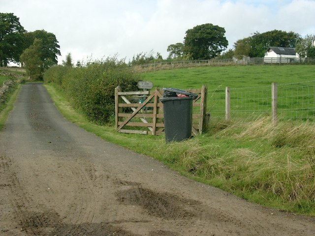 South Graystone Farm roadend