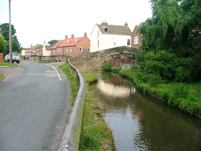 Taylerson's Bridge and the River Leven