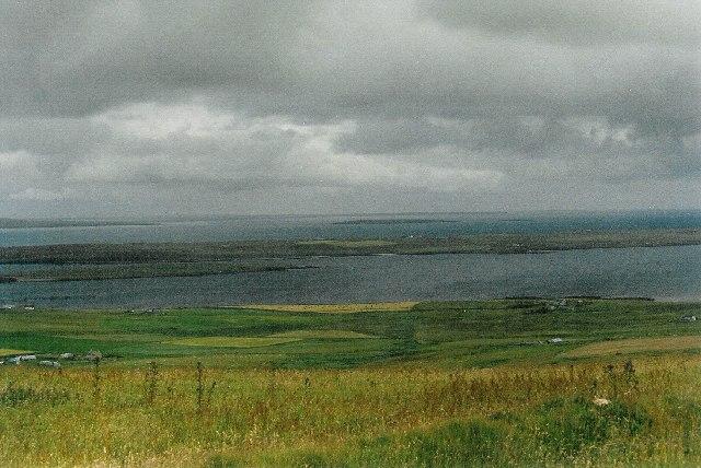 View from Kierfea Hill