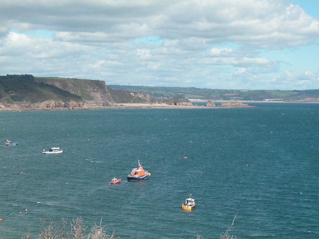 First Point, Second Point and Table Rock Tenby