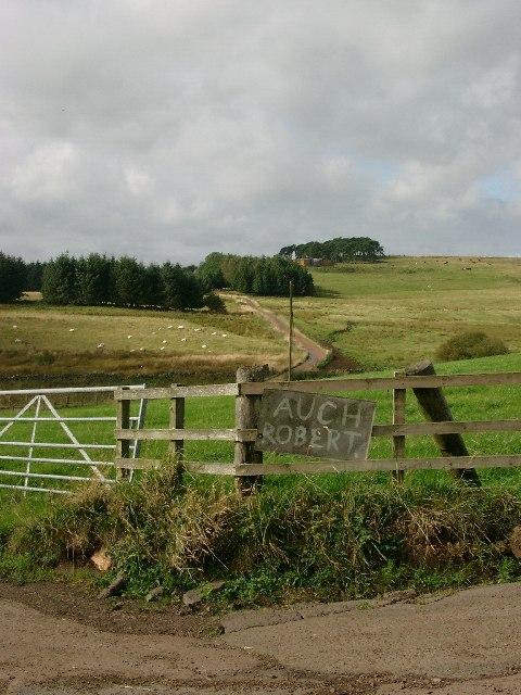 Roadend for Auchrobert Farm
