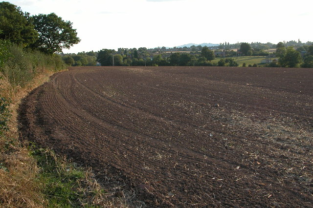 The Malvern Hills from Fernhill Heath