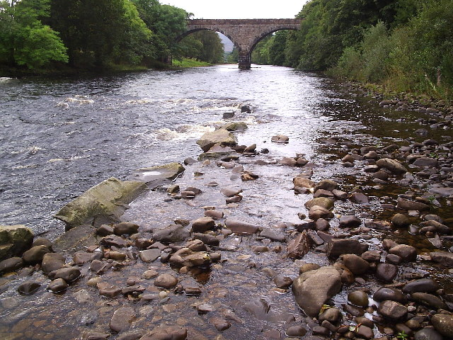 The River Carron Railway Bridge