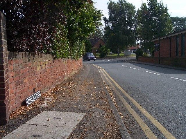 Minge Lane, Upton