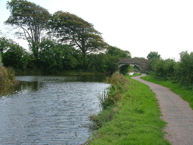 Hasty Brow Bridge, Lancaster Canal, North Lancs.