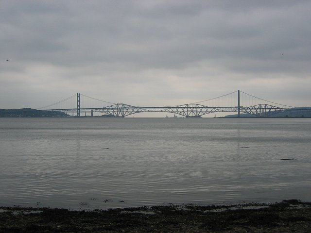 The bridges, from Society Point.