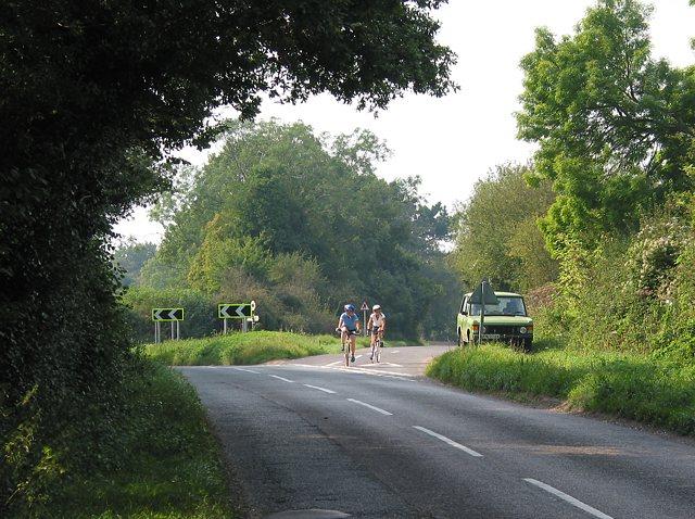 Road junction near Street End