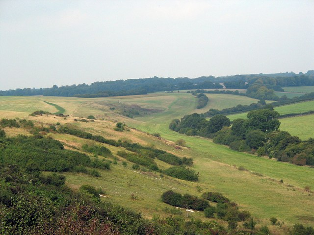 Gallops at the foot of Stephen's Castle Down