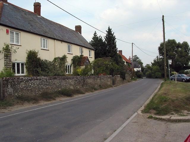 Eastern end of Owslebury Main Road