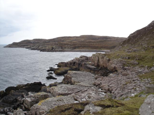 View from Leacan Donna across Cama an Fheidh