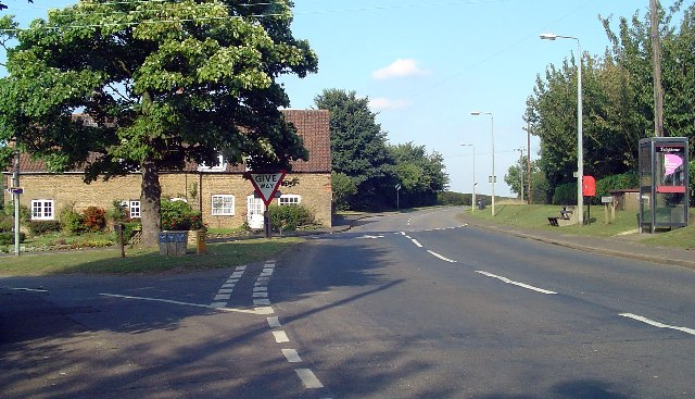 Thealby - B1430 Junction