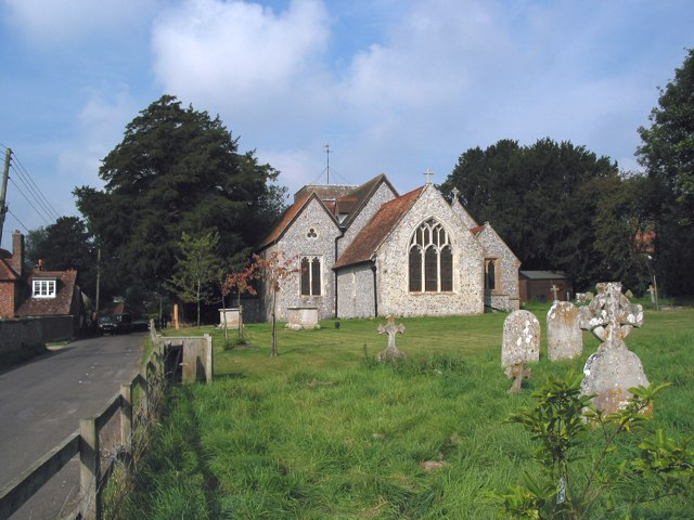 Church of the Blessed Mary, Upham