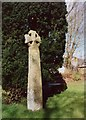 SX0364 : Cross in Lanivet Churchyard by Humphrey Bolton