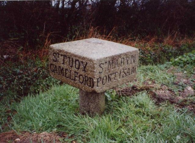 Guidestone on B3266, St Mabyn