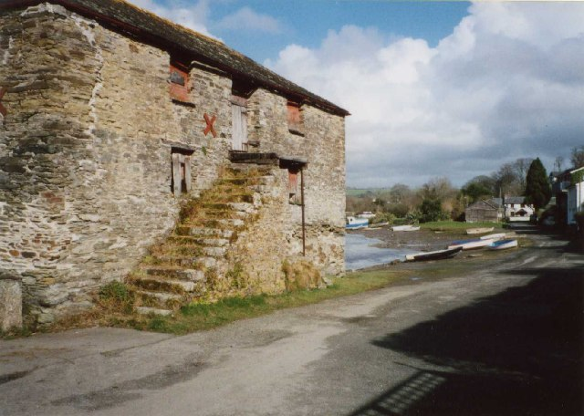 Building next to the River, Lerryn, St Veep (Community)