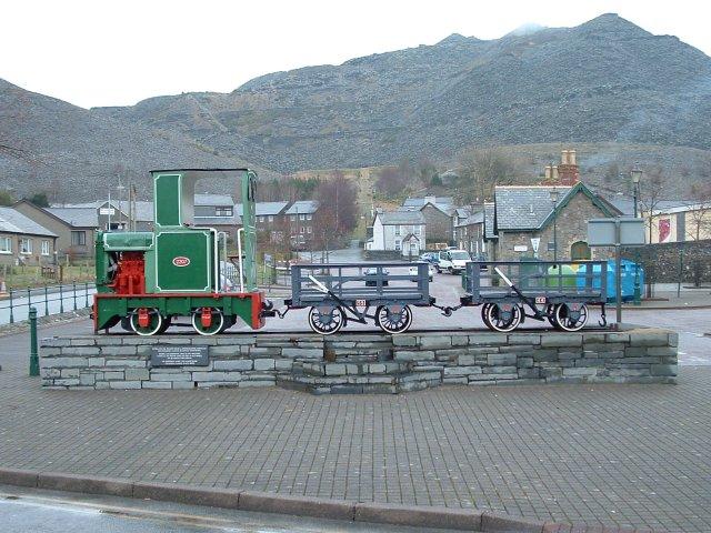 Slate Quarry Train, Blaenau Ffestiniog, Gwynedd
