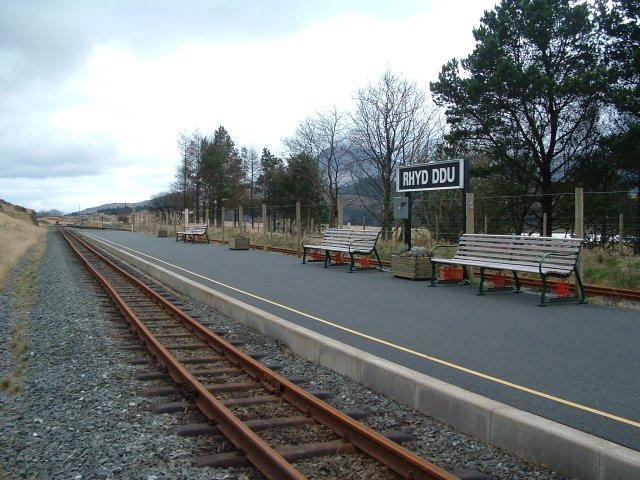 Welsh Highland Railway, Rhyd Ddu Station, Gwynedd