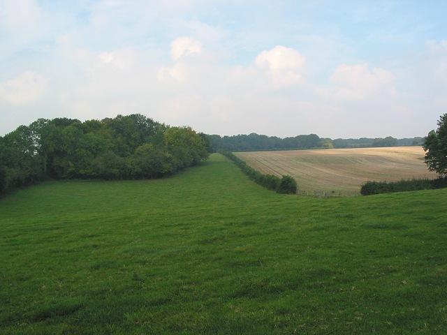 Footpath from Ashton towards Stakes Farm