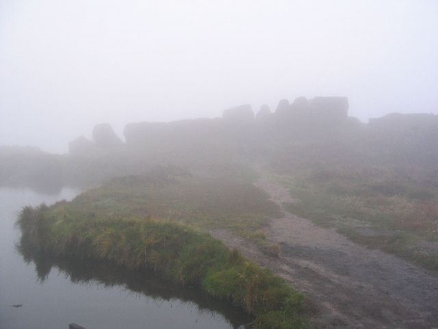 Foggy  Rocks