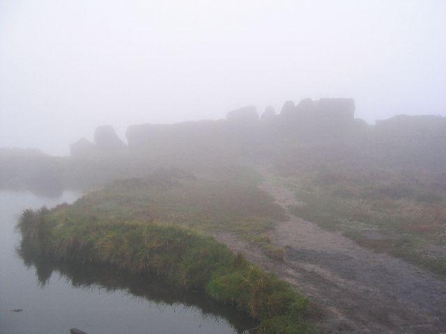 Foggy  Rocks