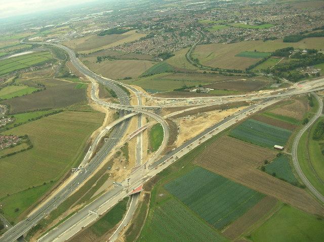 New Interchange A1(M) / M62 Ferrybridge