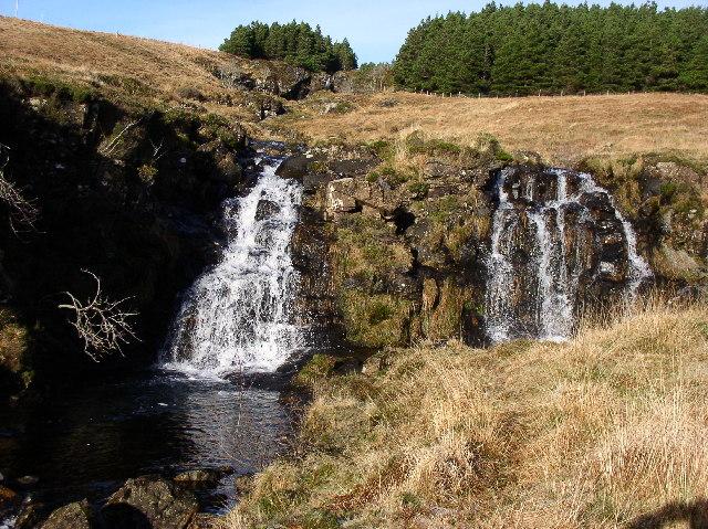 Waterfalls, Glen Brittle