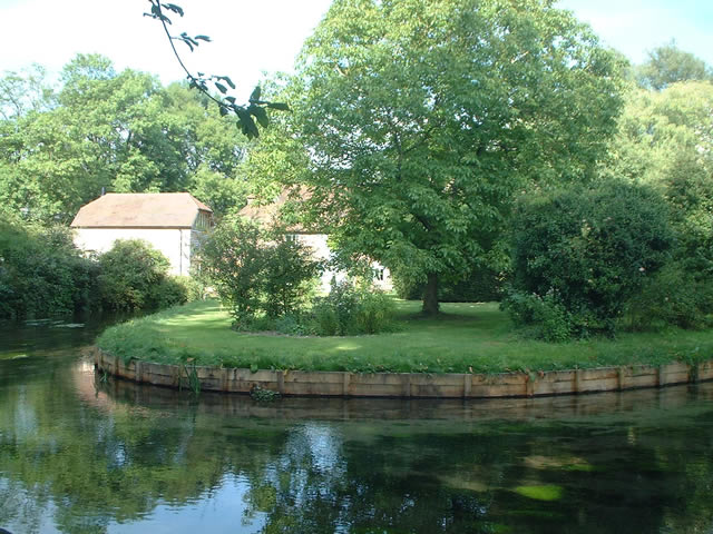 Old Mill, River Itchen, Abbots Worthy