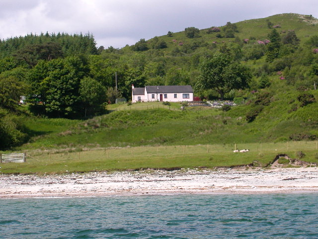 Dippen Bay and foreshore by Carradale,Kintyre