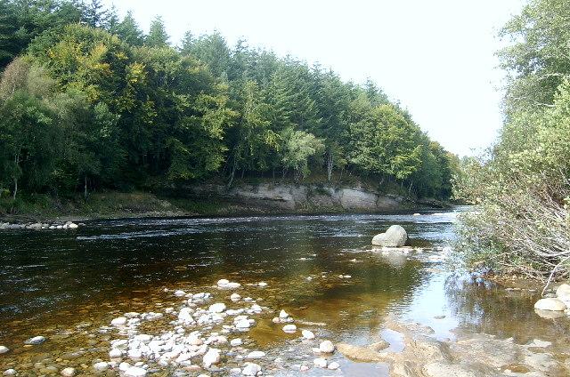 River Findhorn, Limekilns Wood