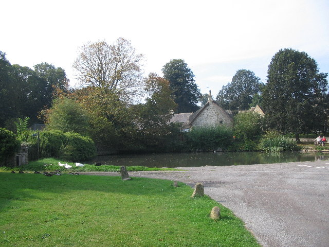 Duckpond at Biddestone