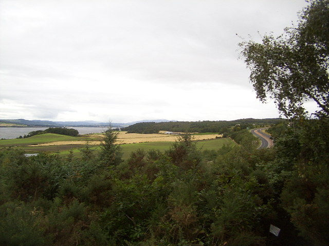 Beauly Firth and A9
