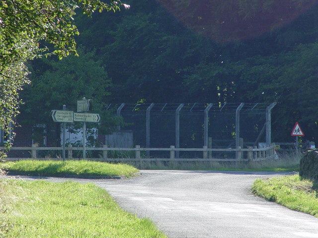 Road Junction outside HMS Forest Moor