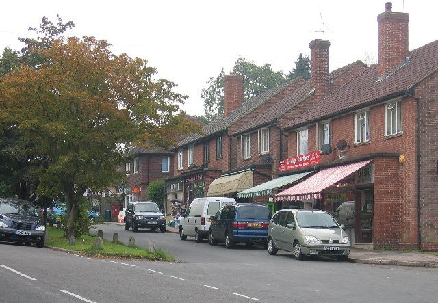 The shops on The Street, Effingham