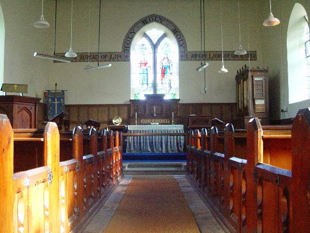 St Saviour's Church, Thornthwaite - inside
