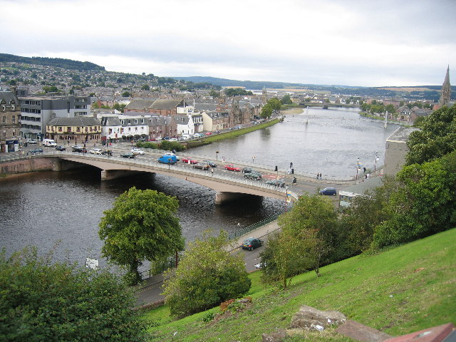 The Bridge, from the Castle, Inverness