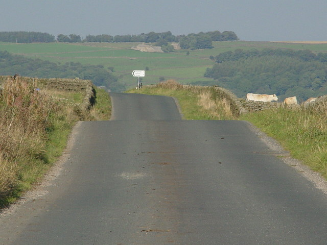 Road over Dacre Pasture