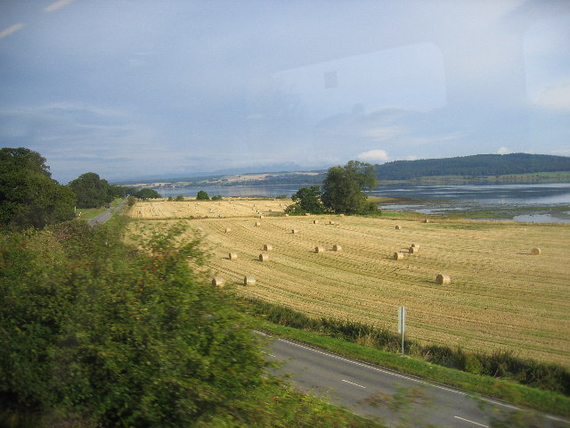 The Mains of Bunchrew and Beauly Firth