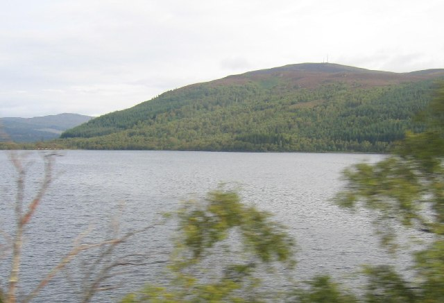 Loch Garve from the train