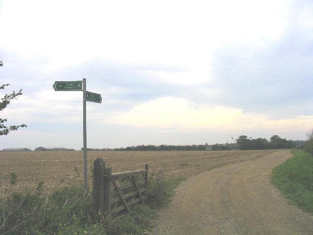 Footpath to Cholley's Farm, Orsett