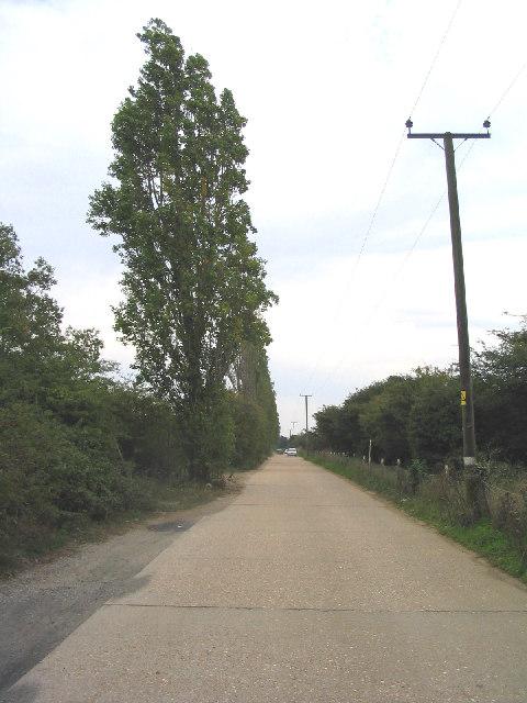 Private Road, Orsett Golf Club, Essex