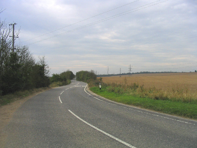 By-road between Linford and Mucking, Essex