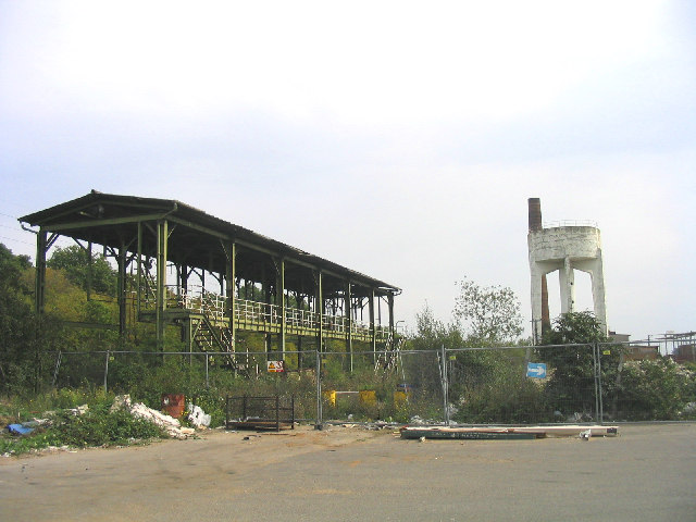 Derelict Industrial Works, Stanford-le-Hope