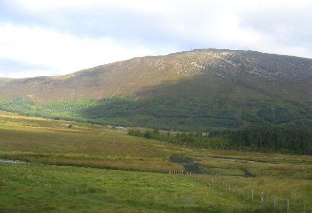 River Carron, Coire Crubaidh and Beinn na Feusaige