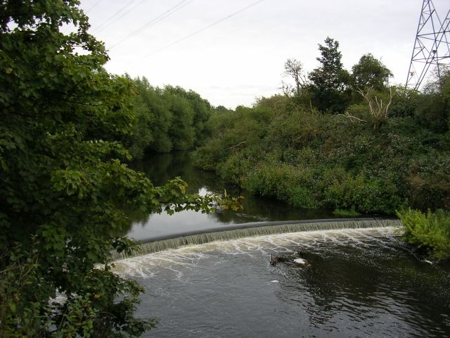 Weir on the River Mersey