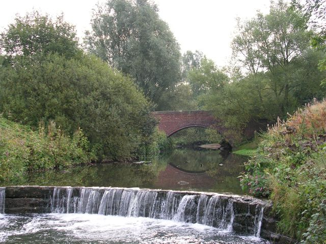 Weir on the River Medlock
