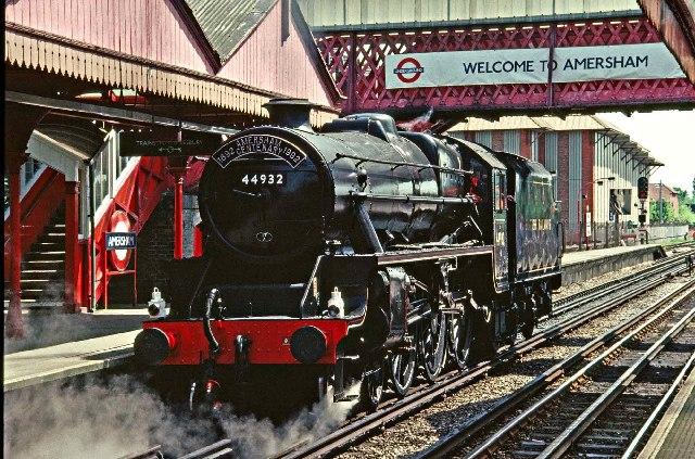 Steam Train at Amersham Station