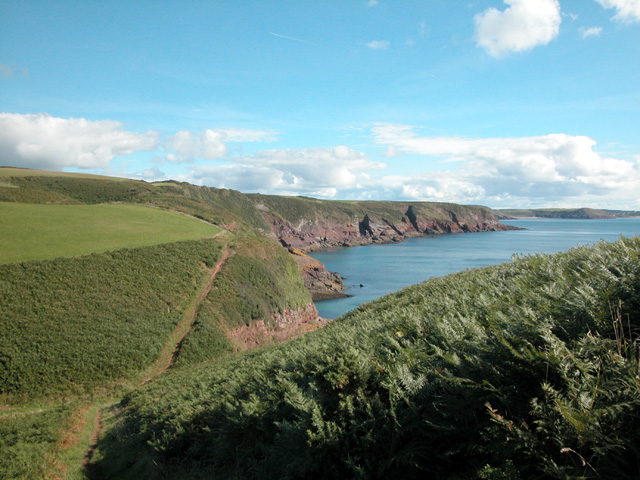 View from near Stackpole.